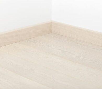 Плинтус Tarkett 80x20 Art White Pearl