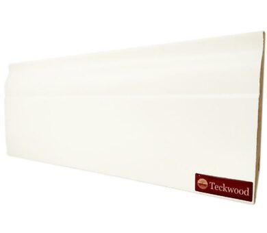 Плинтус Teckwood 100x16 Белый Модерн