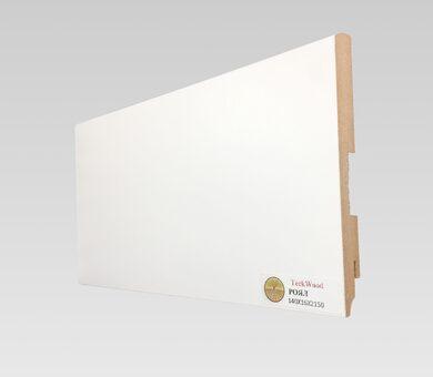 Плинтус Teckwood 140x16 Белый  Роял