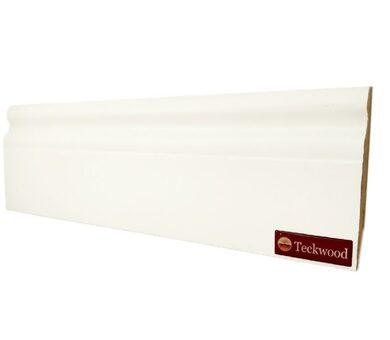 Плинтус Teckwood 80х16 Белый Классик