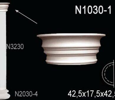 Капитель полуколонны Перфект N1030-1