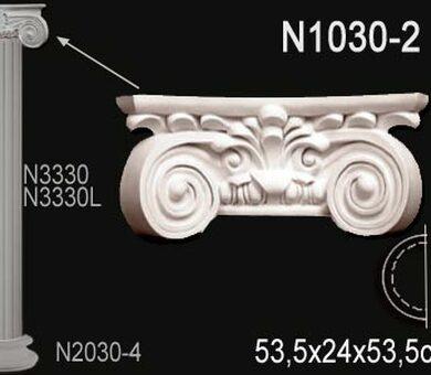 Капитель полуколонны Перфект N1030-2