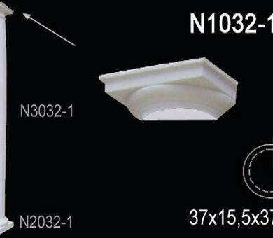 Капитель полуколонны Перфект N1032-1