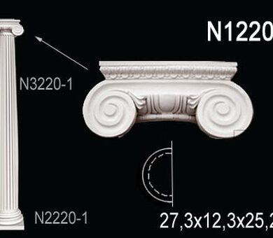Капитель полуколонны Перфект N1220-1