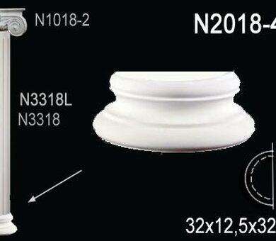 База полуколонны Перфект N2018-4