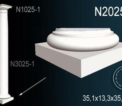 База полуколонны Перфект N2025-1