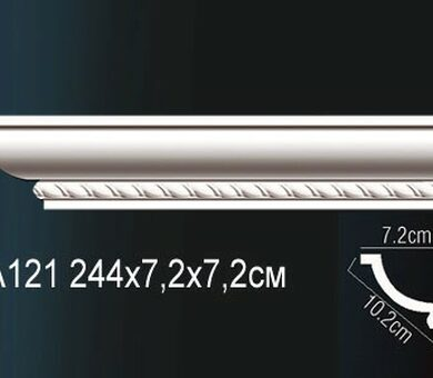 Потолочный плинтус Перфект AA121
