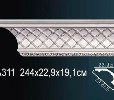 Потолочный плинтус Перфект AA311