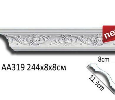 Потолочный плинтус Перфект AA319