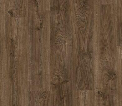 Виниловый ламинат Quick-Step Livyn balance click BACL40027 Дуб коттедж темно-коричневый