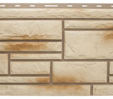 Ракушечник фасадная панель Альта-Профиль Камень Природный