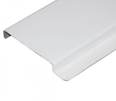 Реечный потолок албес Рейка потолочная белая матовая 4м
