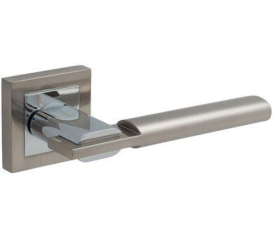 Ручка дверная Z-205 SN/C МатНикель/Хром