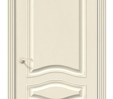 Дверь межкомнатная шпонированная Браво Вуд Классик-50 Ivory