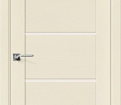 Дверь межкомнатная шпонированная Браво Вуд Модерн-22 Ivory