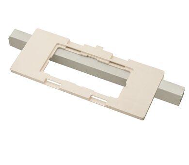Шаблон для врезки скрытых петель (без вставки) Белый