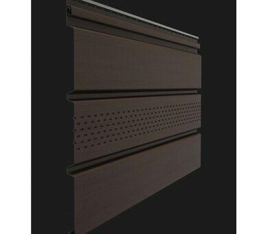 Софит Docke Premium с центральной перфорацией Шоколад
