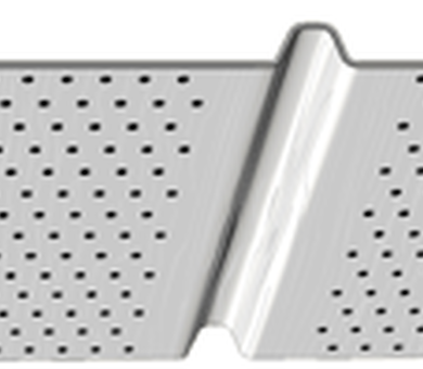 Софит Solid Vertical Perforated Variform