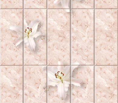 StarLine Плитка 3D Лилия