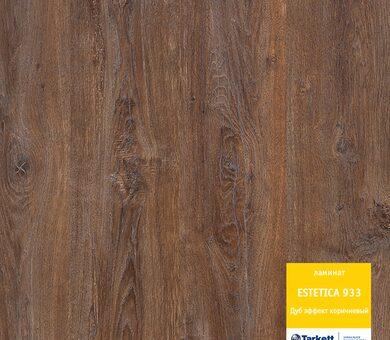 Ламинат Tarkett Estetica Дуб Эффект коричневый 33 класс, 9 мм