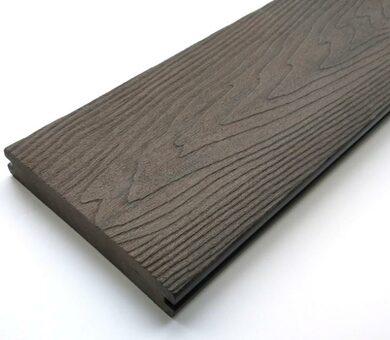 Террасная доска Goodeck Premium Темно-коричневый