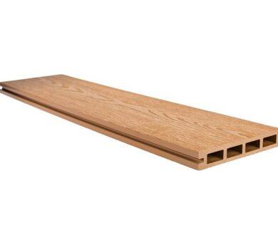 Террасная доска Goodeck Standart Карамель Структура дерева