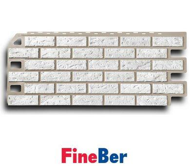 FineBer Кирпич белый