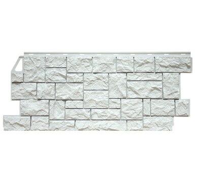 Мелованный белый камень
