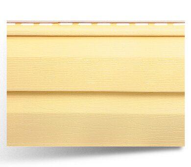 Виниловый сайдинг Альта-Профиль Престиж, цвет Желтый