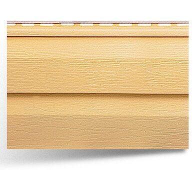 Виниловый сайдинг Альта-Профиль Престиж, цвет Золотистый