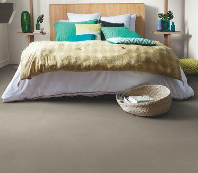 Виниловый ламинат Quick Step Livyn Ambient Glue Plus AMGP40141 Шлифованный бетон темно-серый