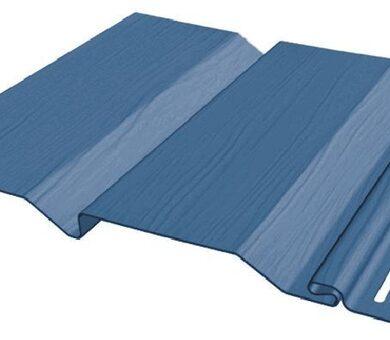 Виниловый сайдинг FineBer Standart Extra Color Синий