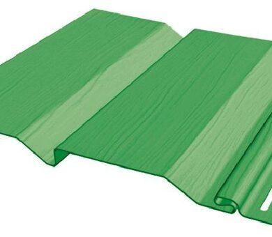 Виниловый сайдинг FineBer Standart Extra Color Зеленый