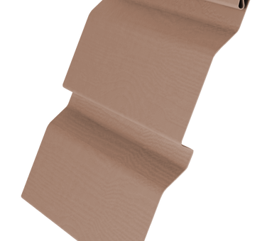 Виниловый сайдинг Grand Line 3.6 GL Amerika D4.4 Темно-бежевый